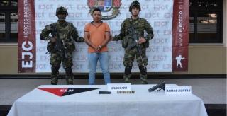 """Capturado en Arauquita, alias """"Pipias"""" o """"Gordillo"""", militante del Eln"""