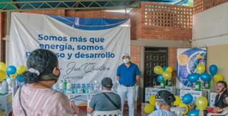 ENELAR entregó kits de bioseguridad a 12 escuelas de veredas del corregimiento Cañas Bravas del municipio de Arauca